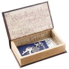 amazon com 2pc faux book safe set kitchen u0026 dining