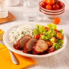 cuisine à la mijoteuse filet de porc sucré à la mijoteuse recettes cuisine et nutrition