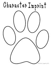 paw print template paw print book template by the 3am teachers pay teachers