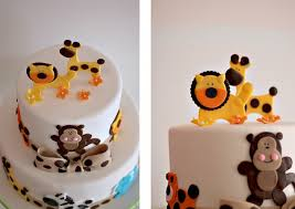 safari baby shower cake the couture cakery