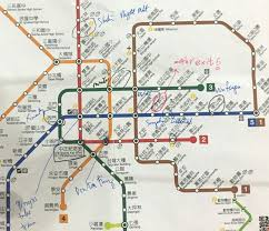 Taipei Mrt Map Splash Of Yellow Top Things To See And Do In Taipei In 3 Days