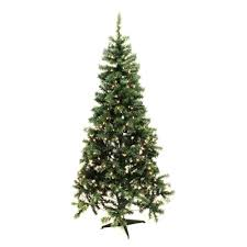 pre lit artificial tree pine tree 7 1 2 ft