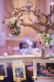 elegant navy blue baby shower at biltmore ballrooms in atlanta ga