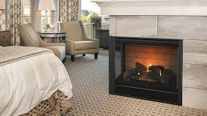 corner series direct vent gas fireplaces majestic products