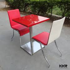 cheap red dining table and chairs restaurant fast food dining table wholesale chairs and tables for