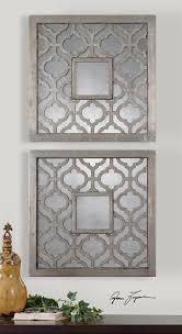 wall art designs dimensional wall art moroccan trellis antiqued