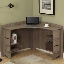 Corner Desk Cherry by Olten Dark Oak Furniture Hidden Home Office Pc Computer Desk Of