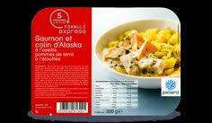 plat cuisiné picard parmentier de colin d alaska aux épinards surgelés les plats