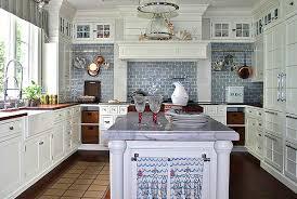 Blue And White Kitchen Ideas Kitchen Design Kitchen Tiles Wall Tile Decor For Walls Brick