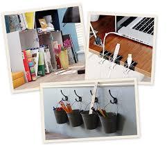 mettre sur le bureau 5 diy pour organiser votre bureau be