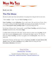 wacky web tales the pet show