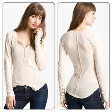 13 off free people tops free people ivory lace trim button cuff