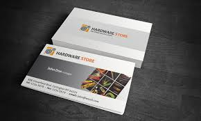hardware business card template free download hw00001