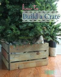 how to build a crate the turquoise home
