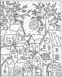 nature scene coloring pages tree u0026 river nature scene coloring page coloring for adults by