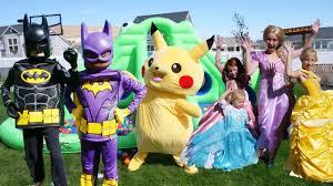 Lego Ninjago Halloween Costumes Halloween Costume Parade Giant Bouncehouse Waterslide Lego