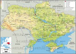 map ukraine geoatlas countries ukraine map city illustrator fully