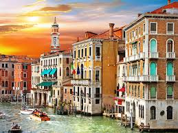 Italy Houses by Picture Venice Italy Canal Grande Cities Building