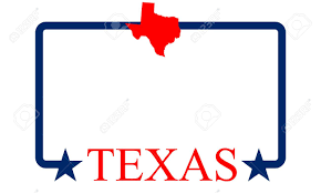 Dallas Tx Map Texas State Map Frame And Name Royalty Free Cliparts Vectors