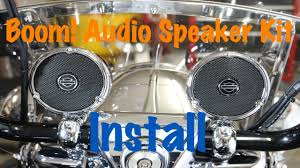 how to install harley davidson boom audio cruiser amp u0026 speaker