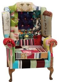 Traditional Armchairs Patchwork Chairs Traditional Armchairs Love Is In The Chair