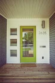 top 25 best midcentury front doors ideas on pinterest
