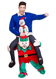 costumes santa suits mrs claus and elves