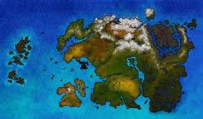 Map Of Nirn Natural Tamriel After The Red Year By Fredoric1001 On Deviantart