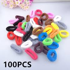 hair holders child kids 100pcs diameter 2 5cm hair holders elastics headdress