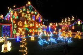 outdoor christmas lights for bushes decorating bushes with outdoor christmas lights garage door