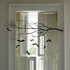 Best Halloween Decoration Best Halloween Decorating Ideas Indoor With Black Glass Cup Board