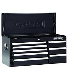 craftsman table top tool box craftsman 40 inch 8 drawer premium heavy duty top chest black
