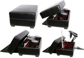 ak rock box gaming and storage ottoman with drum lift ohgizmo