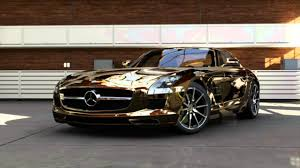 gold cars rapper tyga cars 09