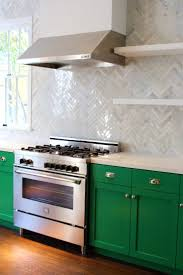 Green Kitchen Cabinets Best 10 Green Kitchen Tile Inspiration Ideas On Pinterest Teal