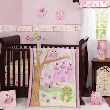 Owl Bedding For Girls by Bedding Sets Girls Crib Bedding Set Owl Baby Bedding Girls Crib