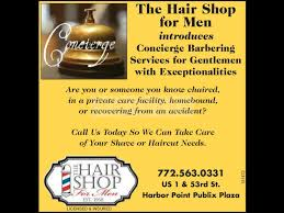 announcements the hairshop for men barbershop and shave parlour