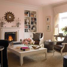 when it comes to paint think pink chic living room pink paint