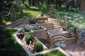 Retaining Wall Landscaping Ideas Landscape Timber Retaining Wall Special Landscape Timber