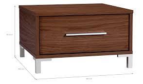 Asda Filing Cabinet Kaitlin Side Table Walnut Effect Furniture George