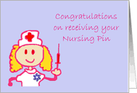 Congratulations Nurse Card Congratulations On Your Nurse Pinning Ceremony Cards From Greeting