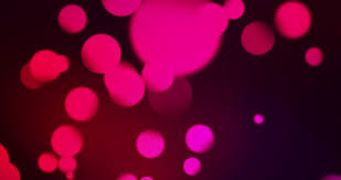 blurred tree with purple lights bokeh