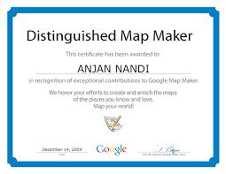 Google Maps Maker Google Map U0026 Anjan
