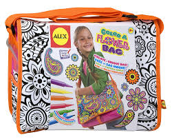alex toys colour a flower bag amazon co uk toys u0026 games