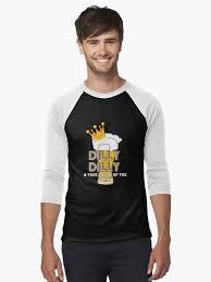 bud light baseball jersey dilly dilly bud light men s baseball t shirt by worldofteesusa