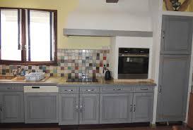 cuisine repeinte en gris impressionnant cuisine repeinte en gris avec cuisine repeinte en