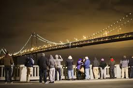Bay Bridge Lights Bay Bridge Lights Dazzle Onlookers At Opening Ceremony Photos