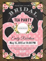 bridal shower tea party invitations tea party invitations search tea party