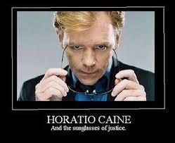 Csi Miami Meme - horatio caine and the sunglasses of justice horatio pinterest