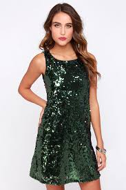 pretty olive green dress sequin dress 49 00
